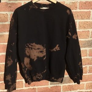 Pretty little thing bleached crew neck sweater